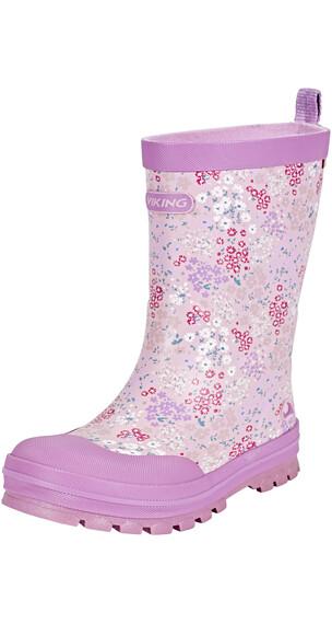 Viking Footwear Mimosa Kalosze Dzieci różowy/fioletowy
